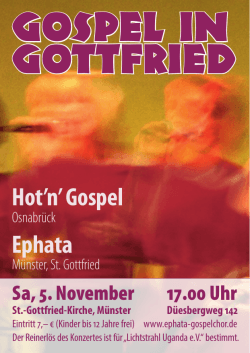 Gospel in Gottfried