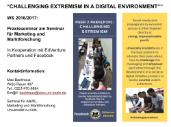 challenging extremism in a digital environment