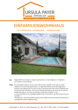 Detail Info - PAYER IMMOBILIEN