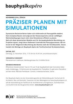 Flyer - bauphysikapero.ch