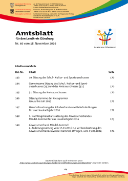 Amtsblatt - locally.de