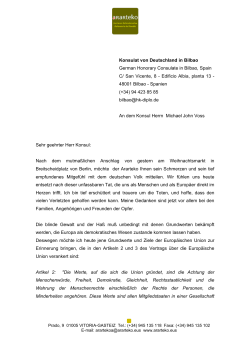 Konsulat von Deutschland in Bilbao German Honorary