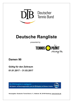 Damen 90 - Deutscher Tennis Bund