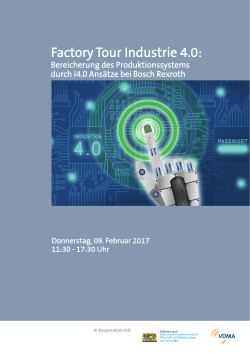 Factory Tour Industrie 4.0