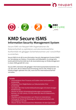 Secure ISMS Overview