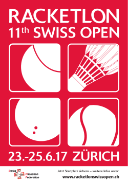 11th SWISS OPEN - Racketlon Swiss Open