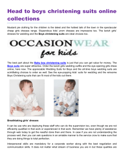 Head to boys christening suits online collections