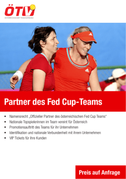 Partner des Fed Cup