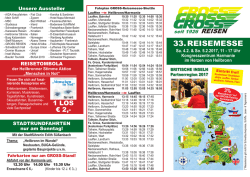 33. reisemesse - Gross International