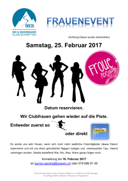 2017.02.18 Flyer Frauenevent