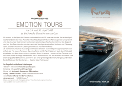 emotion tours - RIVA - Das Hotel am Bodensee