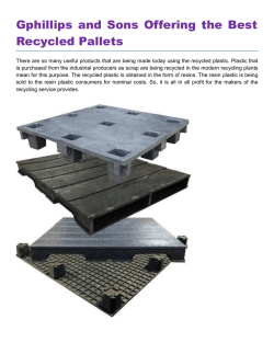 Gphillips and Sons Offering the Best Recycled Pallets