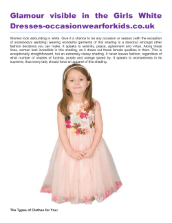 Glamour visible in the Girls White Dresses-occasionwearforkids.co.uk
