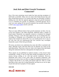 Jock Itch and Hair Growth Treatment: Connected?