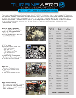 TurbineAero: APU Sale, Lease & Exchange Services