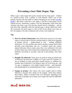 Preventing a Sore Male Organ: Tips