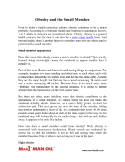 Obesity and the Small Member