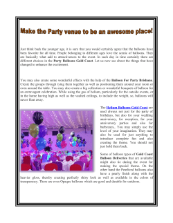Make the Party venue to be an awesome place