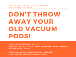 Don't throw away your old CNC vacuum pods of woodworking machining center